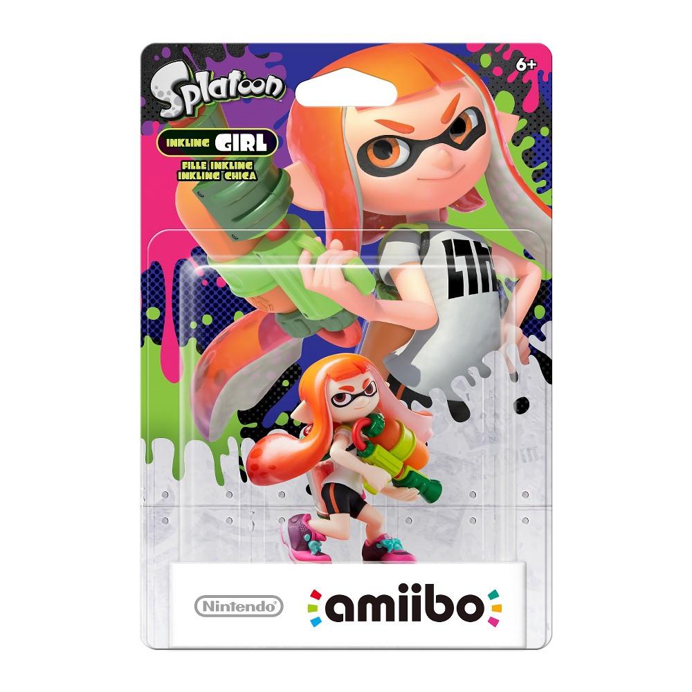 Nintendo Inkling Girl/Boy amiibo Figure (Splatoon Series) - Target - $8.99
