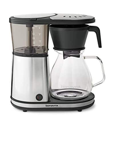 Bonavita BV1901GW 8-Cup Coffee Maker w/Glass Carafe and Warming Plate $79.99