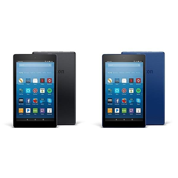 "16GB 8"" Amazon Fire HD 8 WiFi Tablet (2-pack with various color combos) $99.98 + Free Shipping"