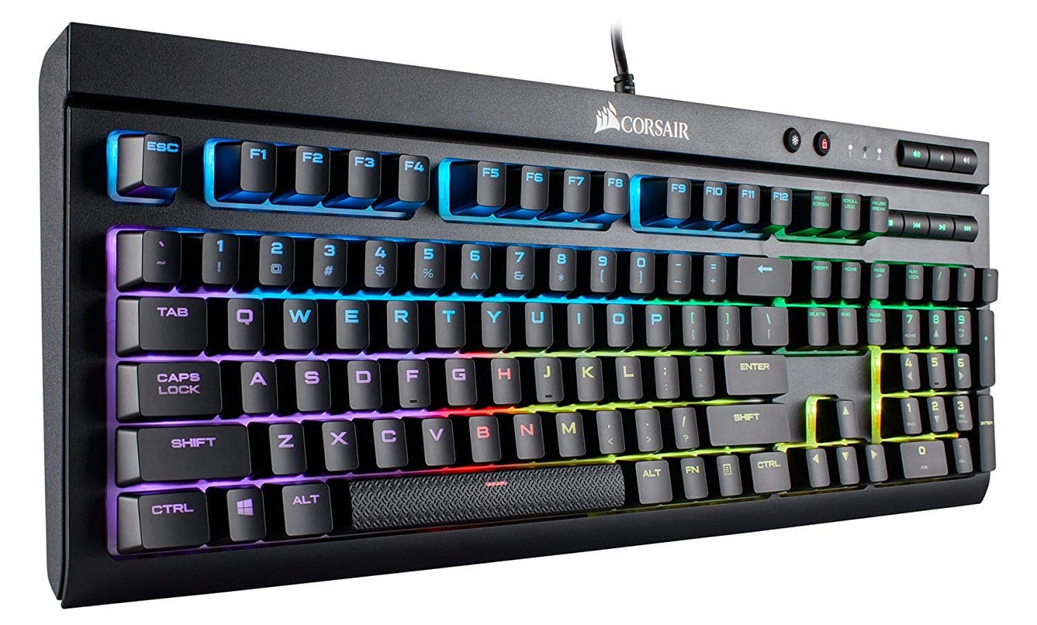 4f0571d7961 Corsair K68 RGB LED Backlit Mechanical Gaming Keyboard IP32 Certified,  Linear & Quiet - Cherry MX Red $79.99 - Slickdeals.net