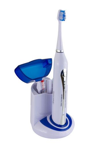 Wellness HealthPro UV-STX Sonic Electric Toothbrush with UV Sanitizer + 3 Heads $27.99 + fs $28