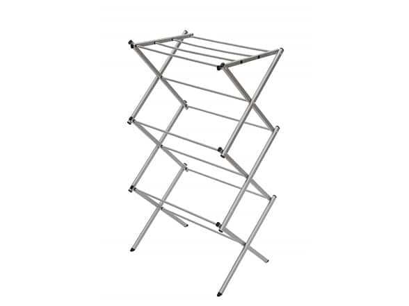 71% OFF on 3-Tier Folding Clothes Drying Rack $18.99