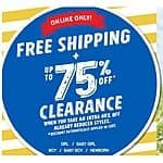 The Children's Place: Clearance Apparel an Additional  40% Off + Free Shipping