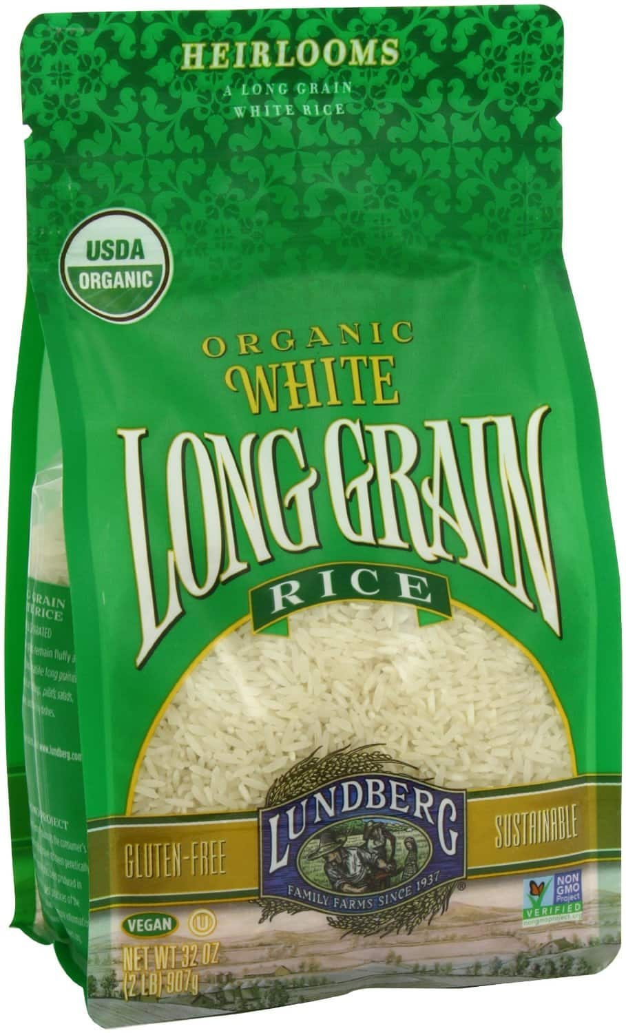 6-pack of 32oz Lundberg Organic White Long Grain Rice (12lb total): $17.16 (or less) + FS @ Amazon (prime only)