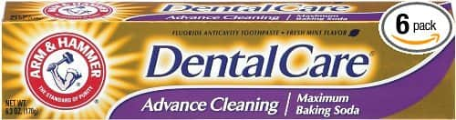 6-pack Arm & Hammer Dental Care Fluoride Toothpaste (6.3 oz each): $12 @ Amazon