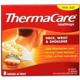 3-pack of ThermaCare Air-Activated Neck, Wrist, & Shoulder Pain Therapy Heat wraps: $8.50 @ Amazon s&s