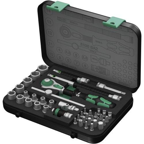 "Wera 8100 SA 2 Zyklop 1/4"" Metric Ratchet Set (41-Pieces ): $148 @ Amazon $147.99"