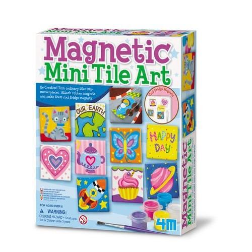 4M Magnetic Mini Tile Art Kit: $5.31 @ Amazon