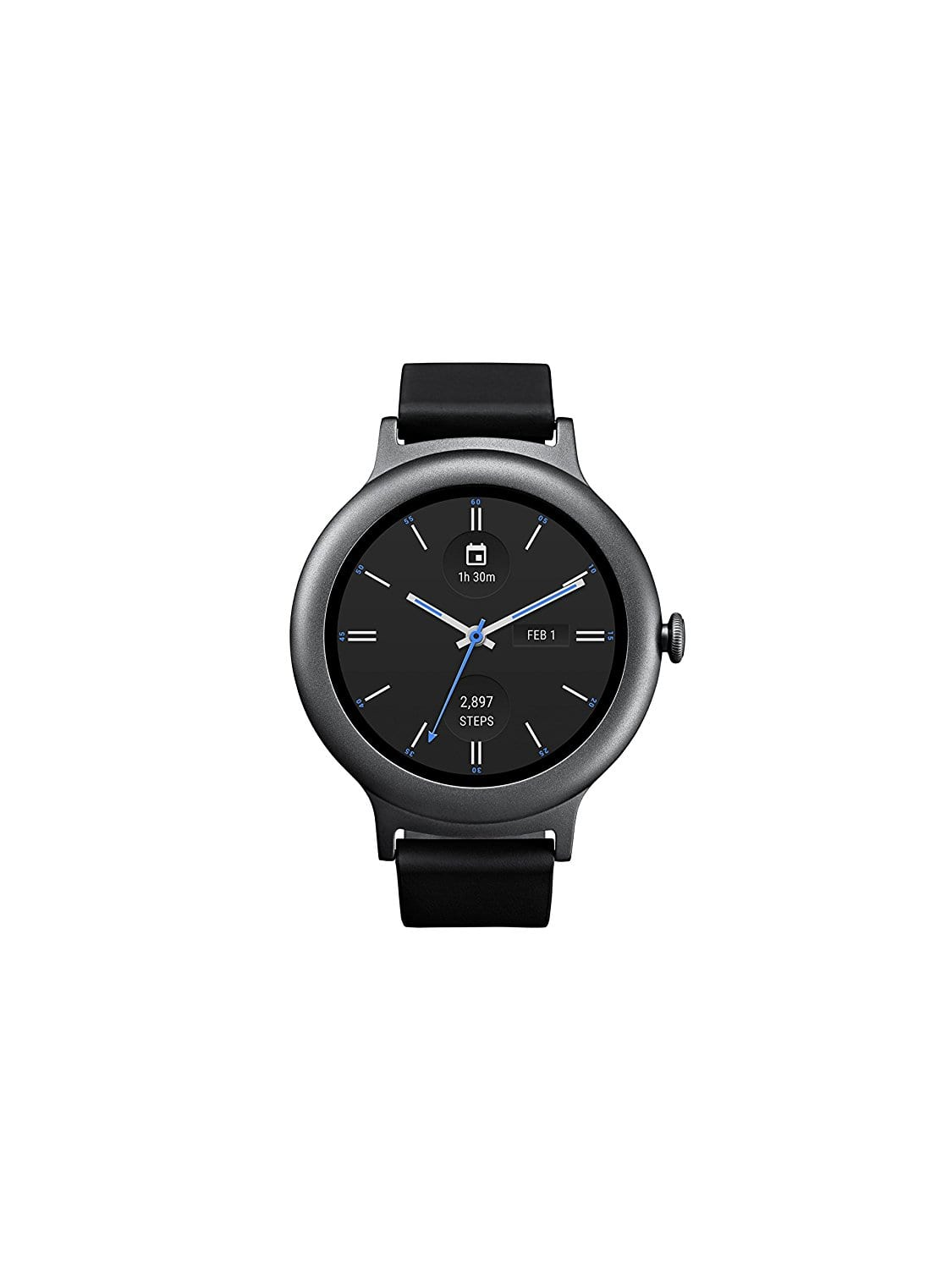 LG Electronics LGW270 Smartwatch with Android Wear 2.0 - Titanium: $100 @ Amazon