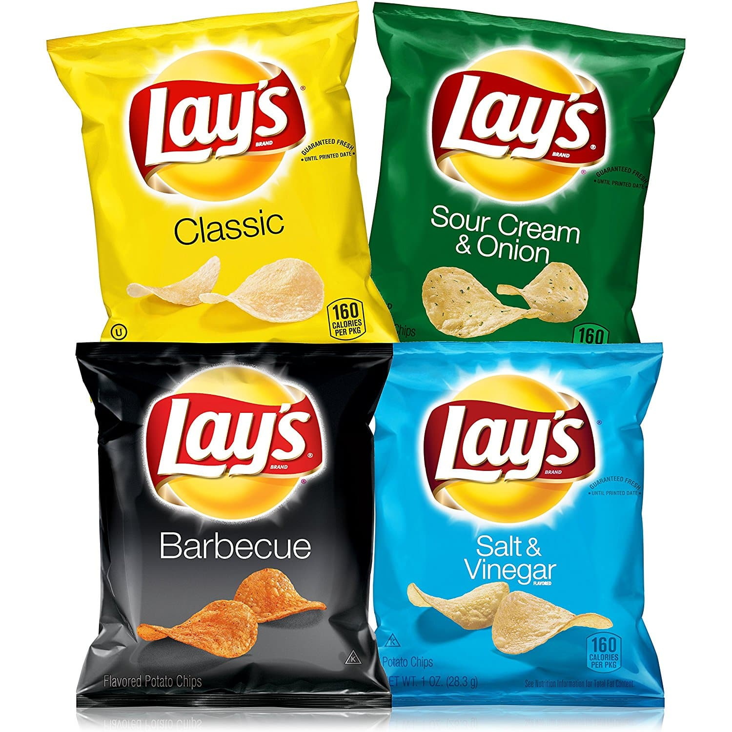 40-Count 1oz Lay's Potato Chips Variety Pack