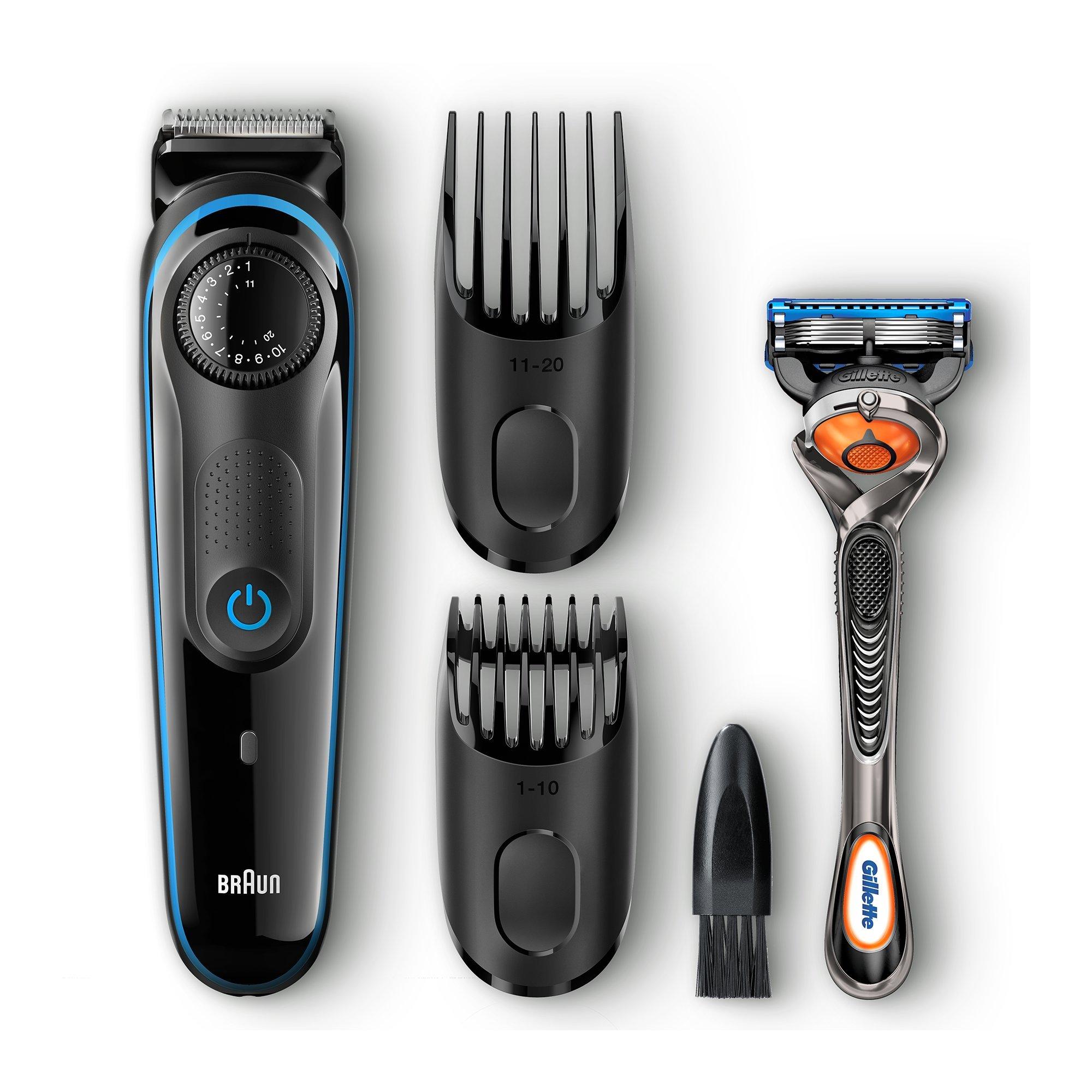 Braun MGK3060 Men's Hair/Beard Trimmer Grooming Kit: $15 @ Amazon