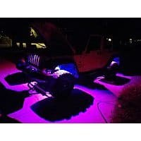 MICTUNING RGB LED Rock Lights $  57.99 free shipping on Amazon