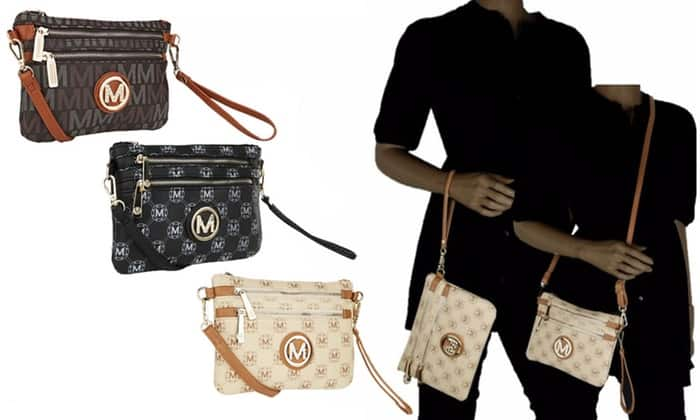 MKF Collection M Signatures Cross-Body Wristlet by Mia K. Farrow $17.99