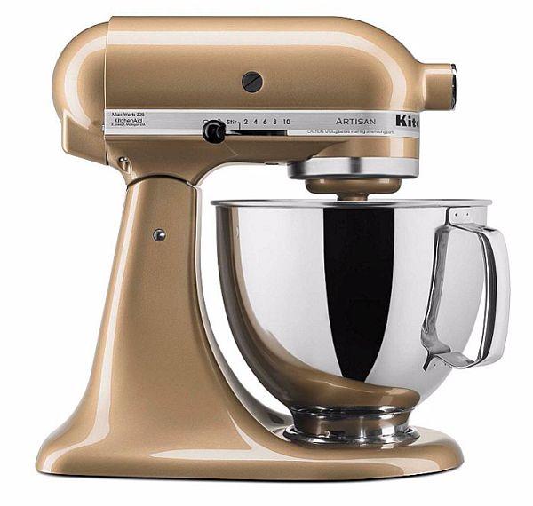 Deals 39 5 Qt Kitchenaid Artisan Stand Mixer Gold Bonus Food Grinder Make Money Online With