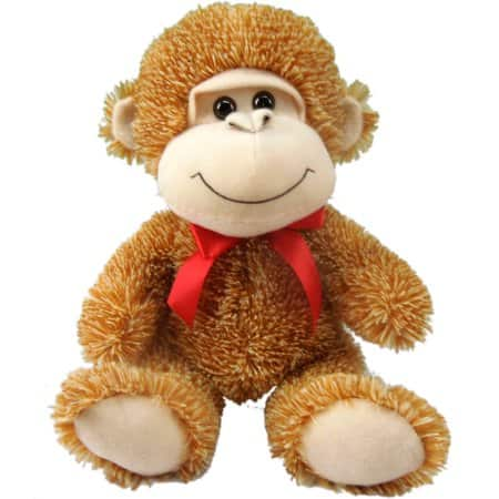 11 Sitting Monkey Plush 2 49 And More Free Store Pickup At