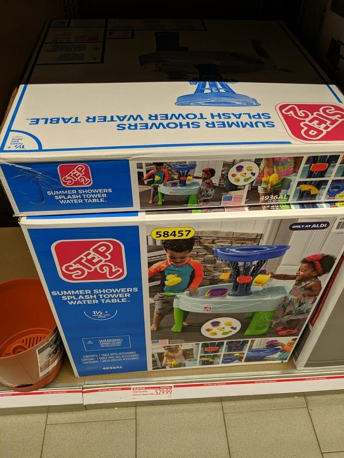 Step2 Summer Showers Water Table $29.99