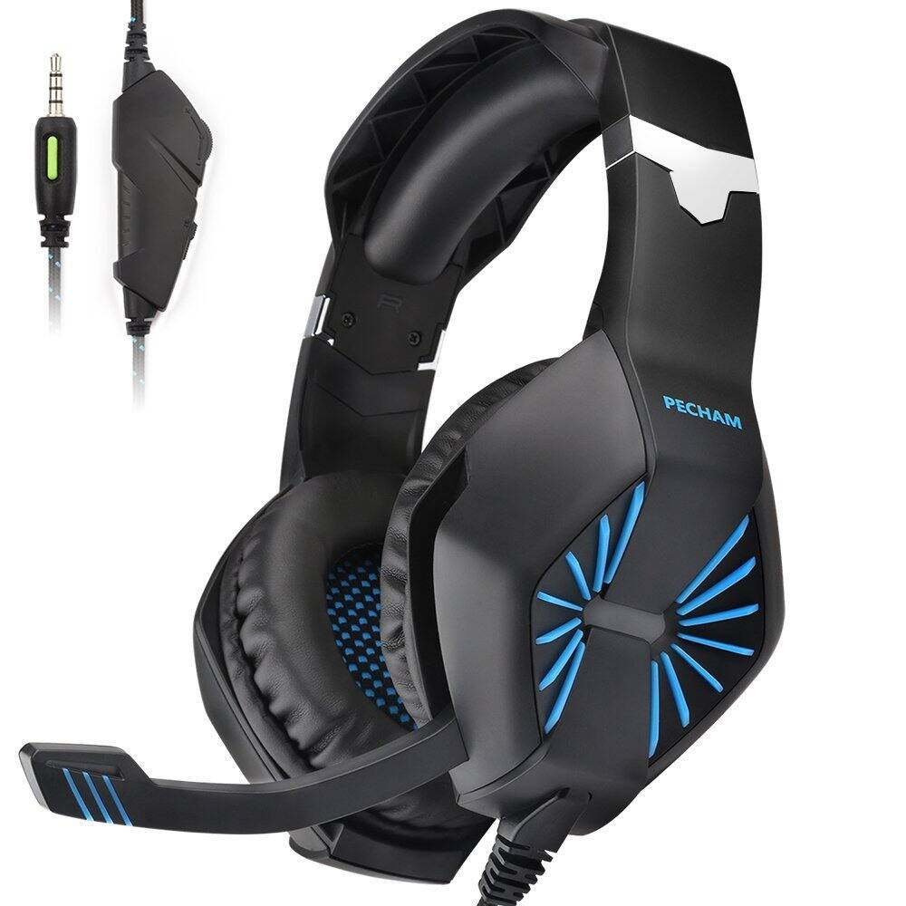 3.5mm Jack Gaming Headset for Xbox One, PS4, PC with Mic $14.99