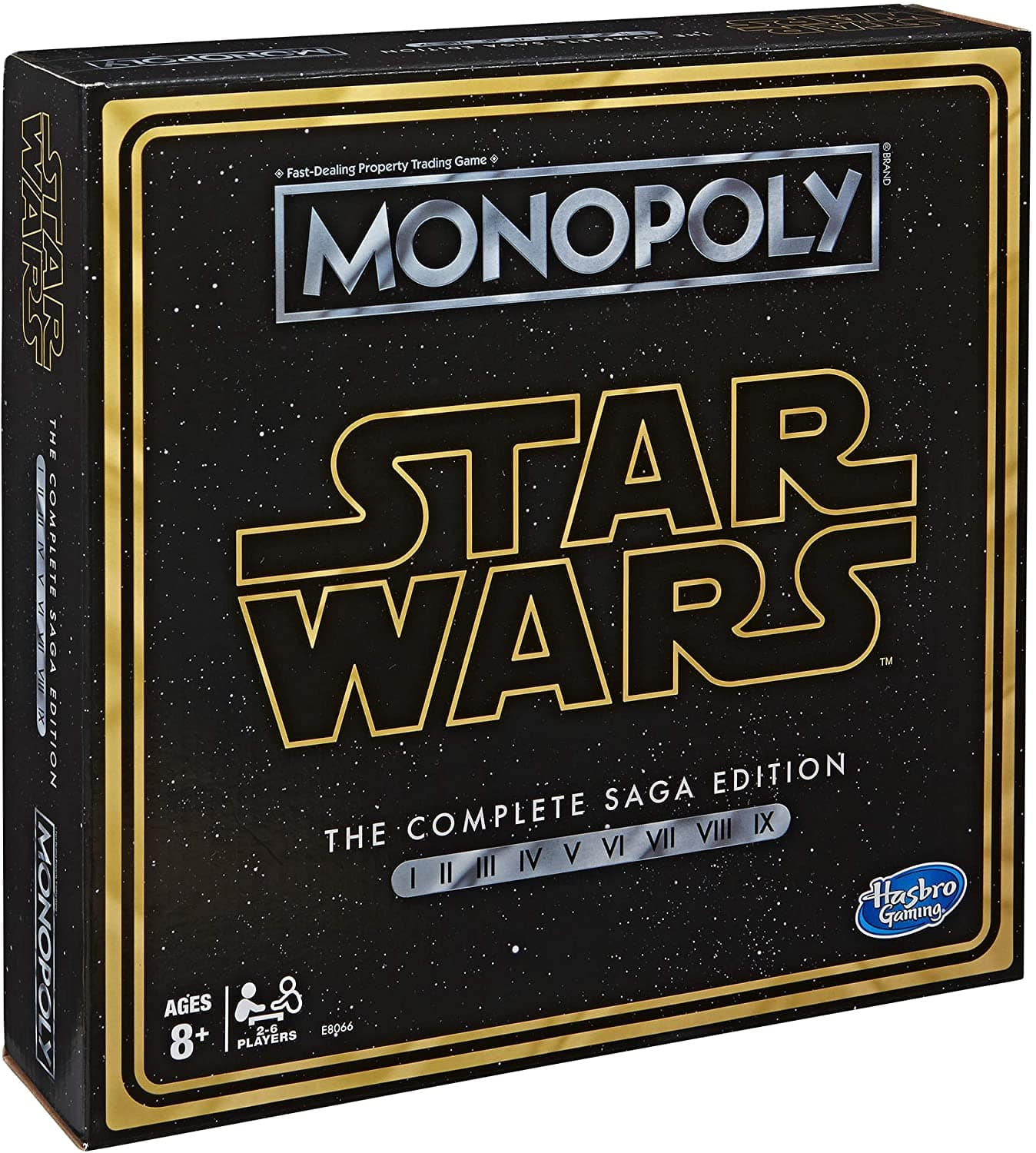Monopoly: Star Wars Complete Saga Edition Board Game $20 + Free Shipping w/ Prime or orders $25+
