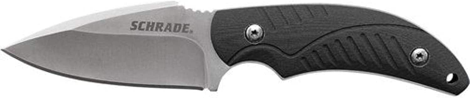 """6.4"""" Schrade SCHF66 High Carbon S.S. Full Tang Fixed Blade Knife $9.59 + Free Shipping w/ Prime or orders of $25+"""