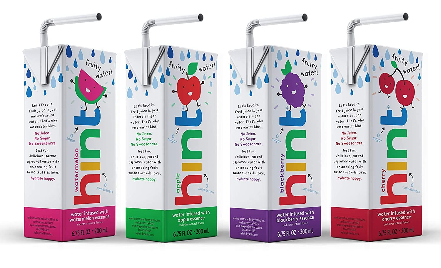 32-Pack 6.75-Oz Hint Kids Water Variety Pack $9.49 w/S&S + Free Shipping w/ Prime or on orders over $25