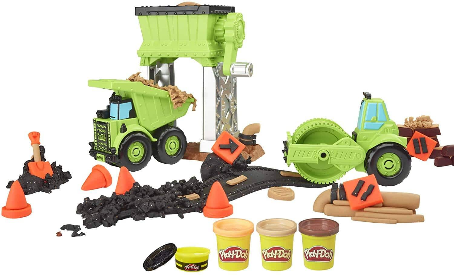 Play-Doh Wheels Gravel Yard Construction Toy $9.88 + Free Shipping w/ Prime or on $25+