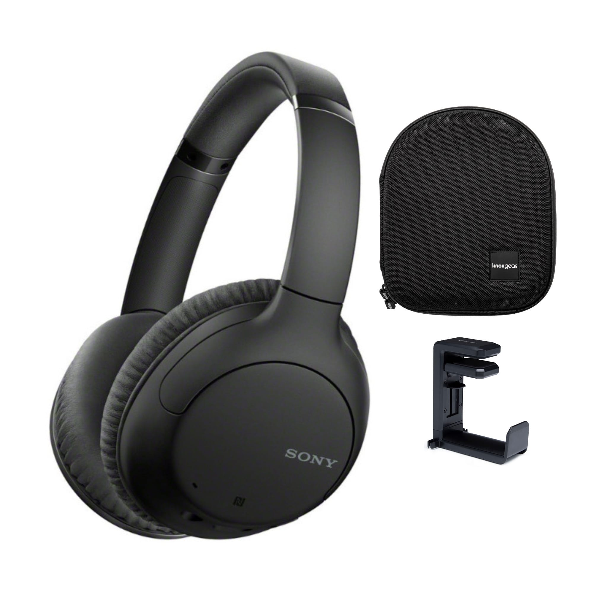 Sony WHCH710N Wireless Bluetooth Noise Canceling Over-the-Ear Headphones + Headphone Case + Headphone Hanger Mount $73 + Free Shipping