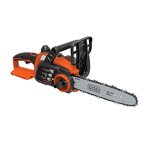 """Prime Members: 10"""" BLACK+DECKER 20V Max Cordless Chainsaw (Tool only, LCS1020B) $59 + Free Shipping"""