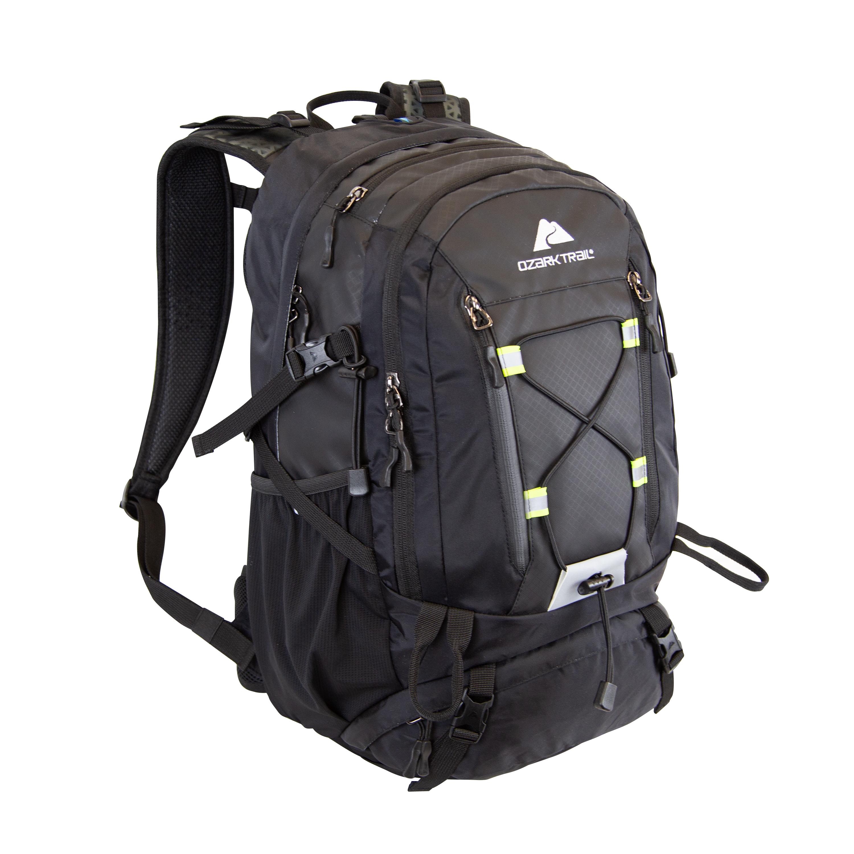 Ozark Trail 36L Jasper Backpack (Black) $23.42 + Free Shipping w/ Walmart+ or Orders $35+