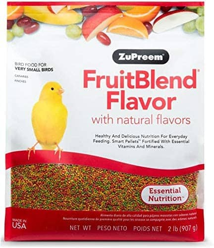 2-Lb Zupreem Fruitblend X-Small Canary/Finch Food $2.96 + Free Shipping w/ Prime or on $25+