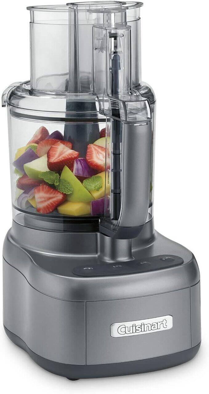Cuisinart FP-11GMFR 11 Cup Food Processor Gunmetal – Refurbished - $59.99 & Free Shipping