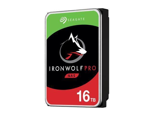 Seagate Ironwolf Pro 16TB NAS Hard Drive $469.99 + Free Shipping