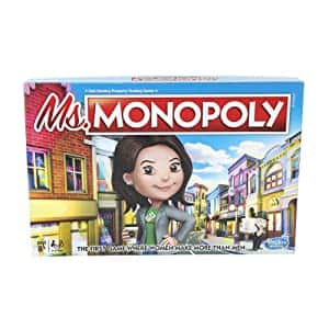 Monopoly Ms.Monopoly Board Game $7.10 at Amazon