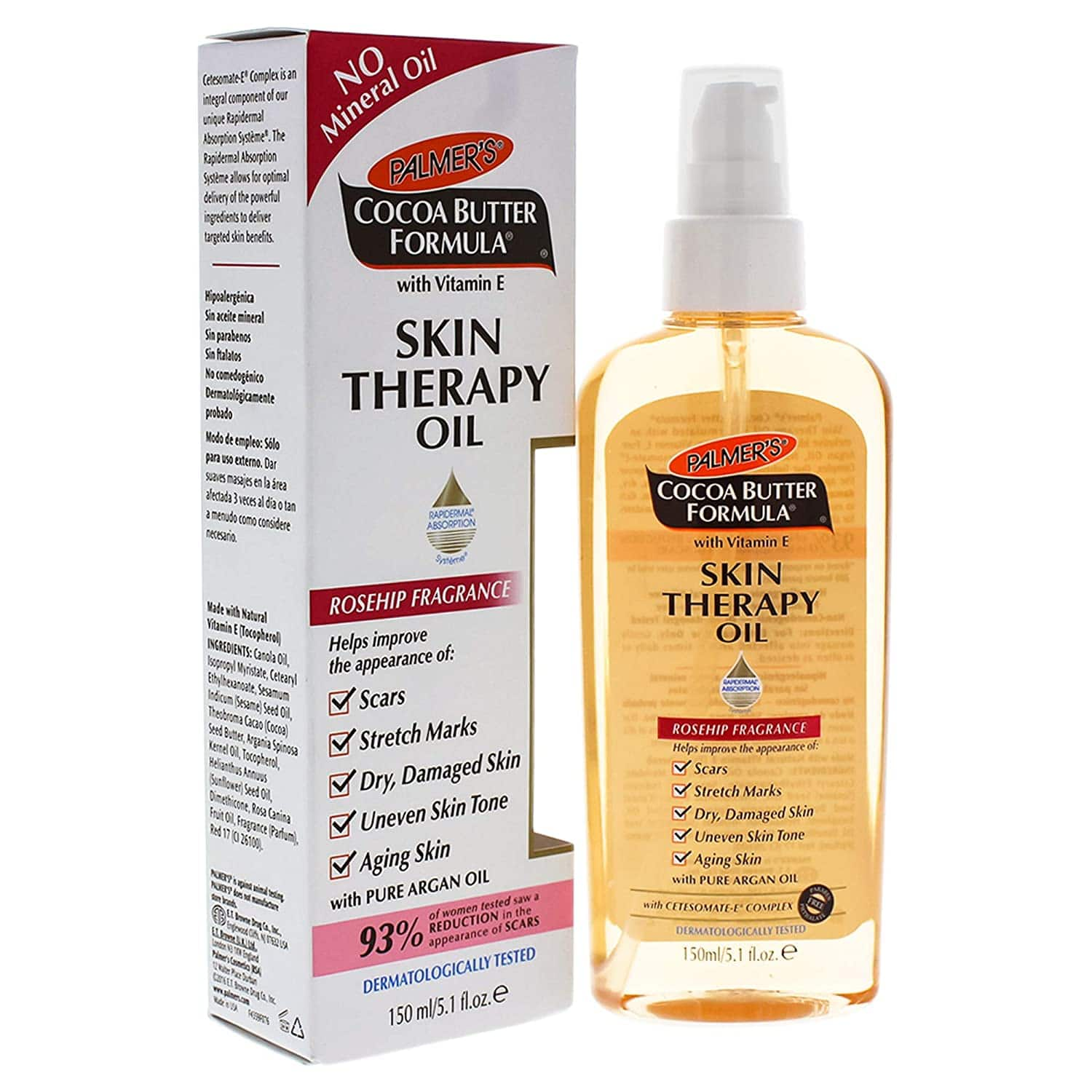 Palmer's Cocoa Butter Formula Skin Therapy Moisturizing Body Oil $4 at Amazon