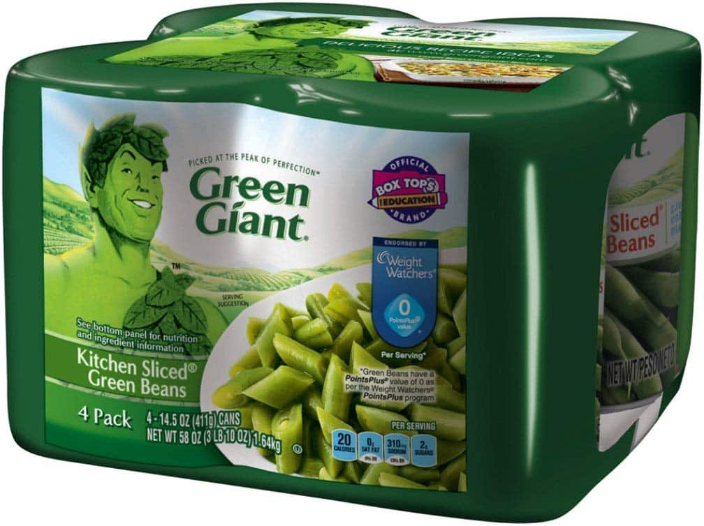 4-Pack of 14.5-Oz Cans Green Giant Kitchen Sliced Green Beans $3.76 w/ S&S + Free Shipping w/ Prime or orders $25+