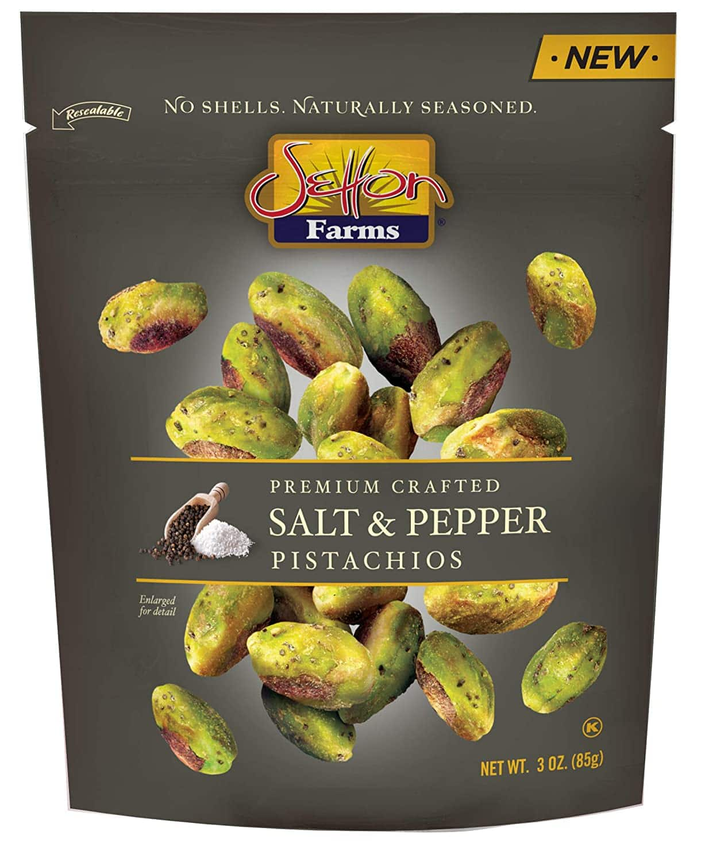 3-Oz Setton Farms Pistachios Seasoned Kernels (Salt & Pepper) $2 + Free Shipping w/ Prime or on orders over $25