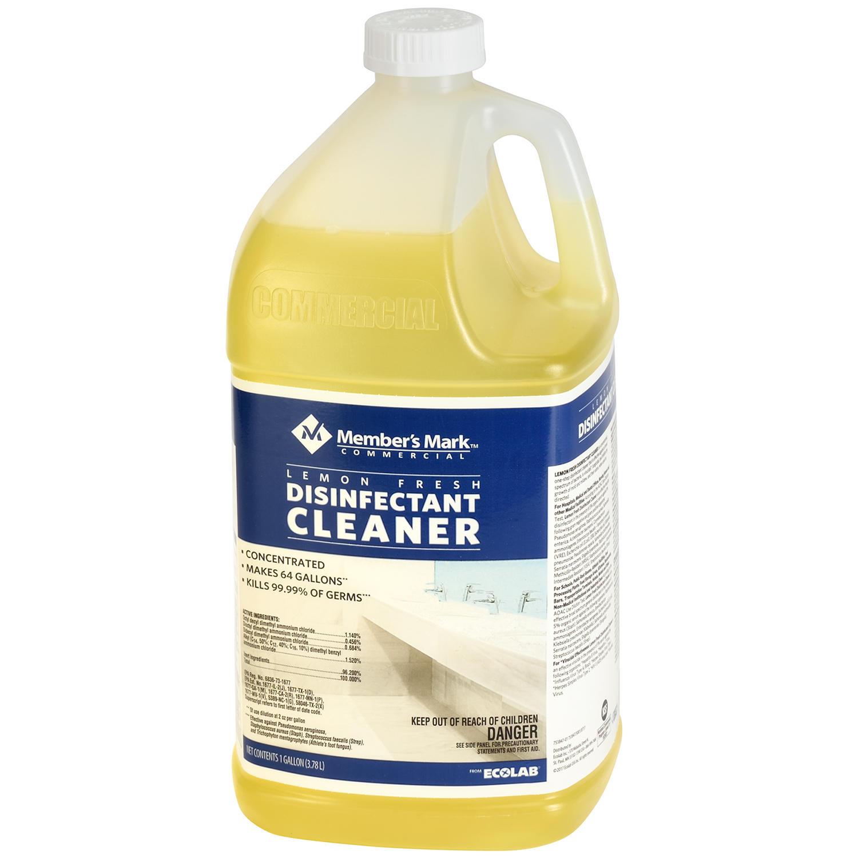 128-Oz Member's Mark Commercial Lemon Fresh Disinfectant Cleaner $7 + Free Shipping ($6.36 for Sams Club Members)