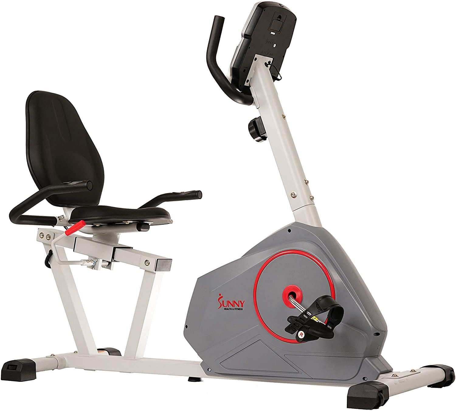 Sunny Health & Fitness Magnetic Recumbent Exercise Bike w/ Silent Belt Drive $184 + Free Shipping
