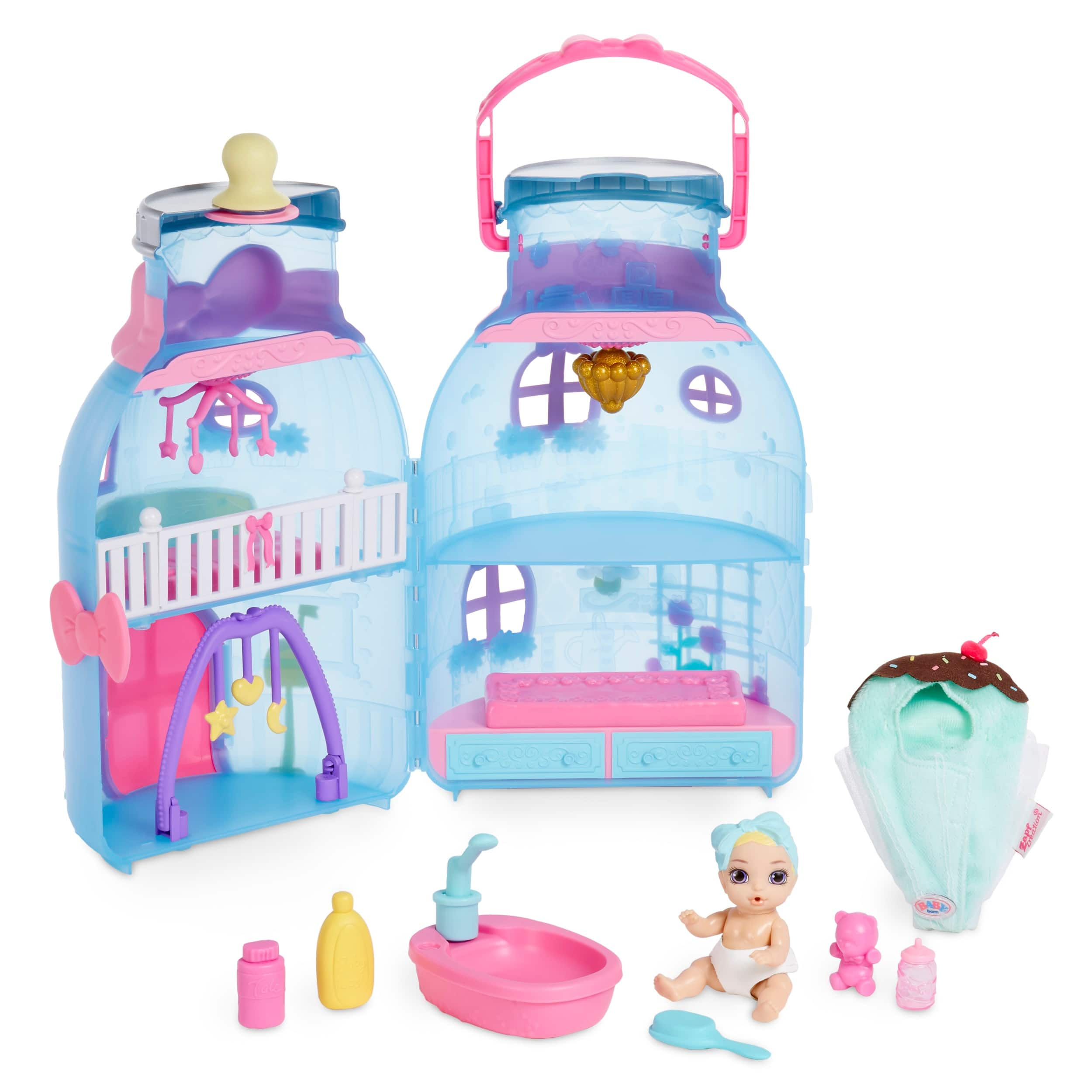 Baby Born Surprise Baby Bottle House w/ 20+ Surprises $15.98 + Free Shipping on orders $35+