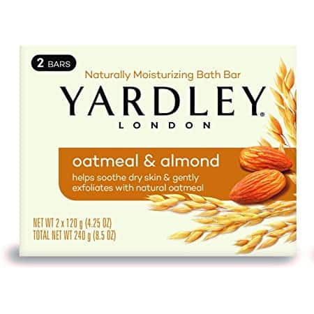 4.25-Oz Yardley London Bar Soap: Oatmeal & Almond $1, Cocoa Butter & Vitamin E $1 + Free Shipping w/ Prime or on orders $25+
