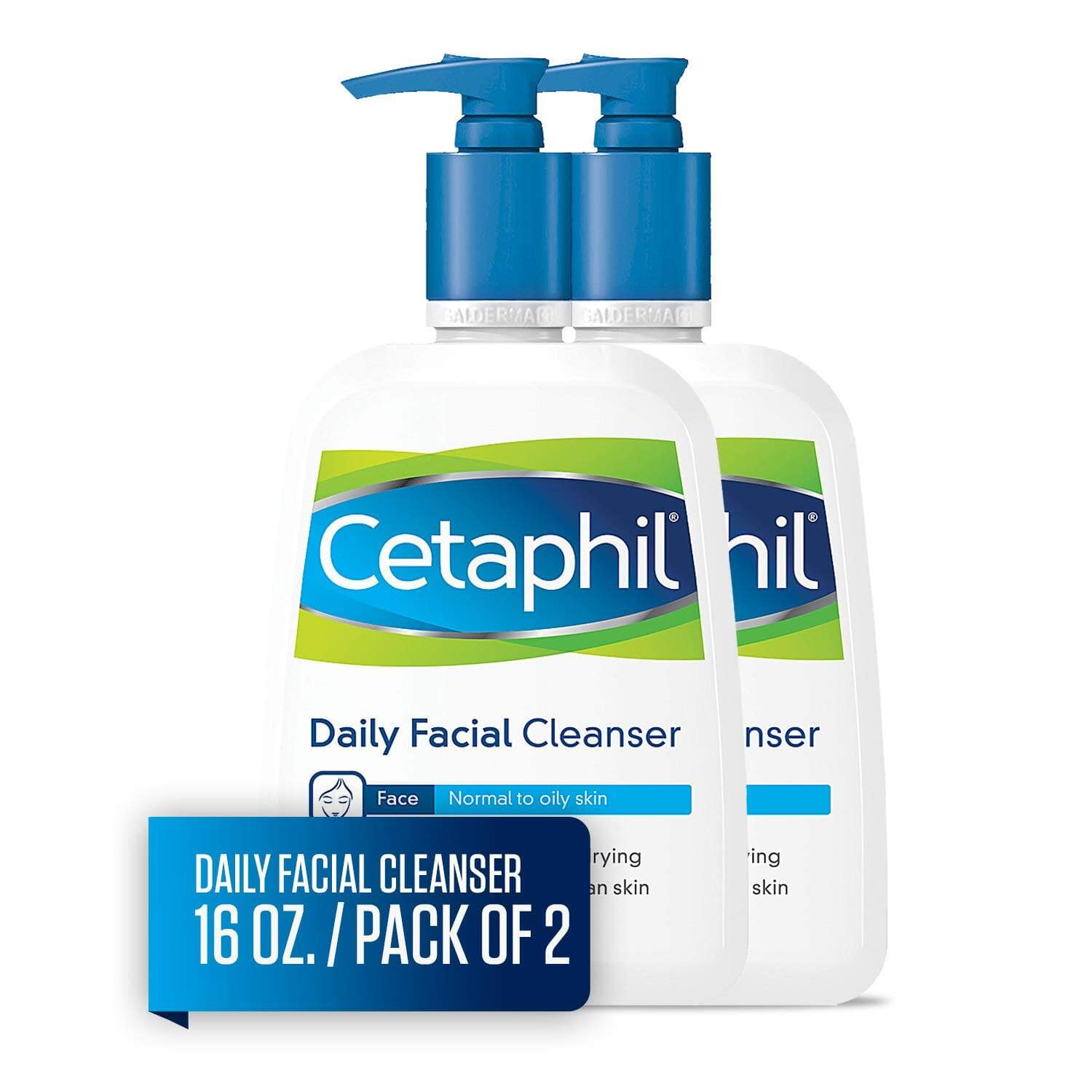 2-Pack 16-Oz Cetaphil Daily Facial Cleanser $12.10 + Free Shipping w/ Prime or on orders $25+
