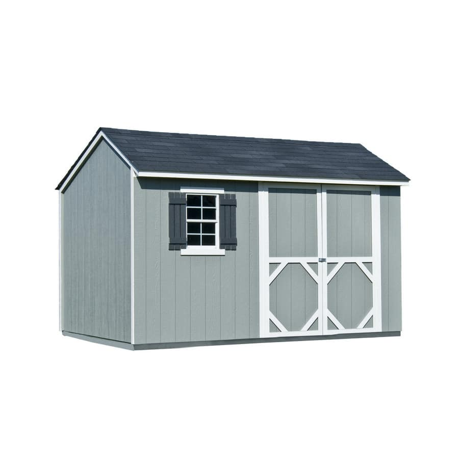 Heartland Stratford Wood Shed 8 X 12 Lowes 858 100