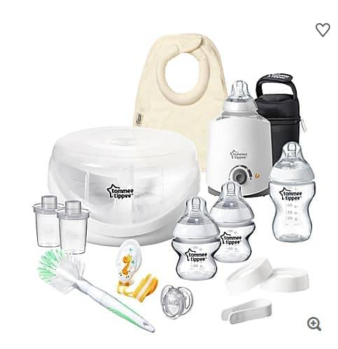 Tommee Tippee Closer to Nature All-In-One Newborn Gift Set $49.99 @ Bed Bath and Beyond ($39.99 if you have 20% coupon)