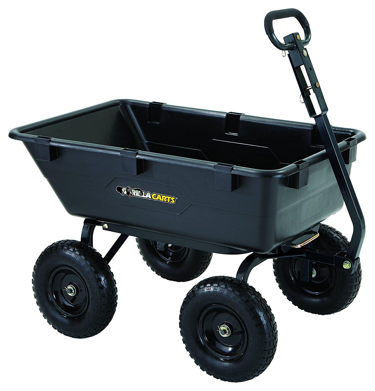 Gorilla Poly Yard Dump Cart 1200 Lb Capacity Page 2