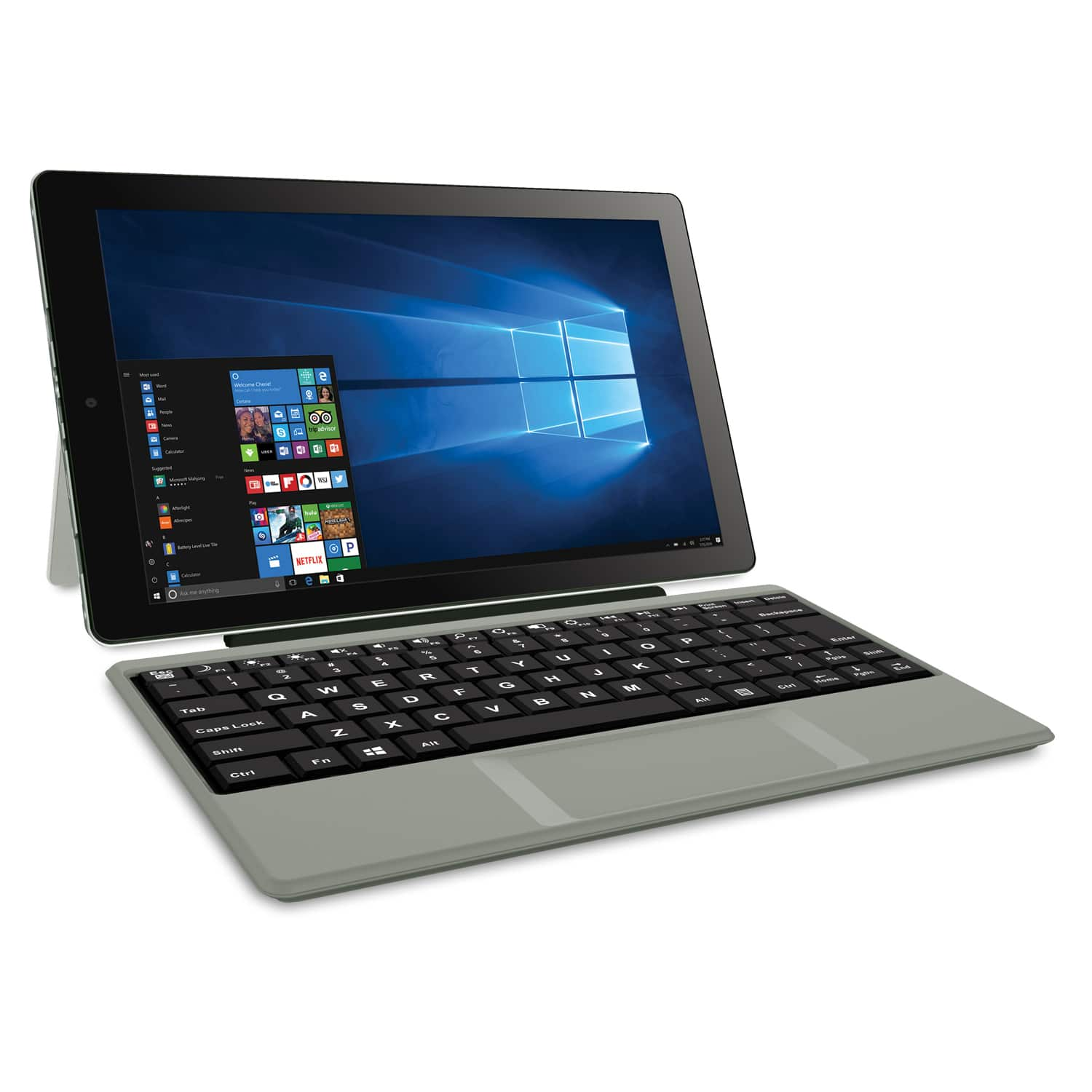 "RCA Cambio 10.1"" ""2-in-1"" 32GB Tablet with Windows 10, Intel Atom Z8350 2GB RAM, Includes Keyboard, $74 Walmart B&M"