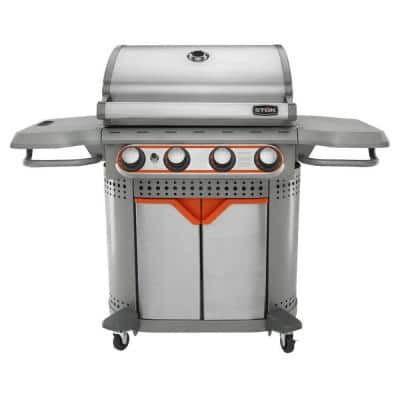 *STILL ALIVE* STOK Quattro 4-Burner LP Gas Grill $99 from $299 @ Home Depot