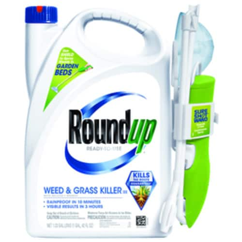 Roundup Ready-to-Use 1.33-Gallon Weed & Grass Killer + Free Bonus Refill 1.25-Gallon at Lowe's for $24.98 + Free Store Pickup