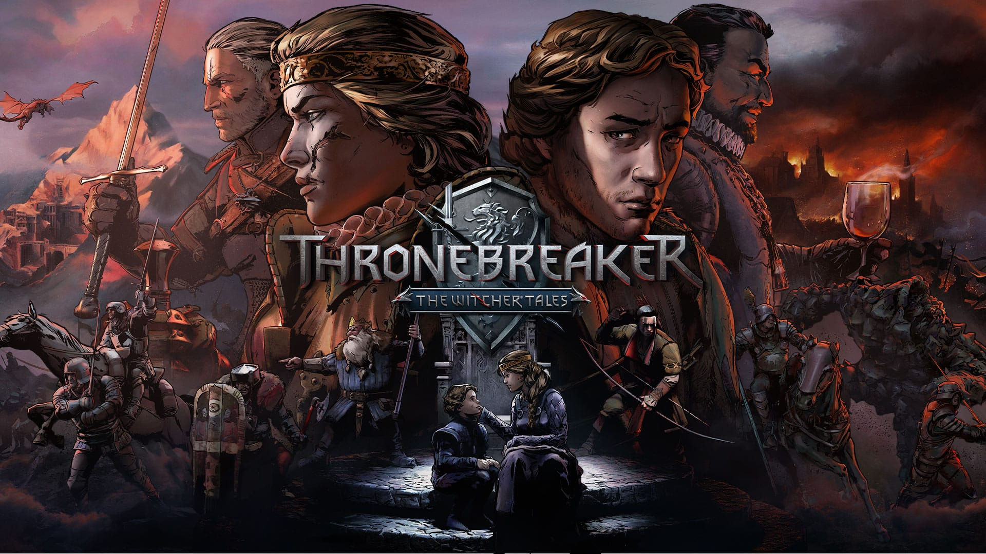 Thronebreaker: The Witcher Tales for Nintendo Switch eShop $9.99