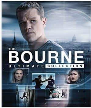 Amazon Today's Deals : The Bourne Ultimate Collection (Blu-ray or DVD) $23.99