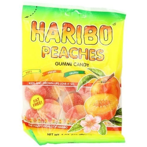 12-Pack Haribo Gummi Candy Peaches $7.60 or $6.57 w/Amazon S&S + Free S&H