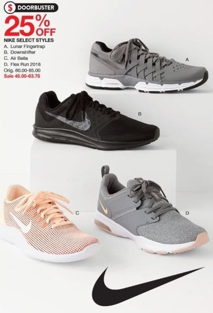 df327e5ecb3a Belk Black Friday  Nike Downshifter - 25% Off - Slickdeals.net